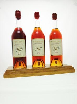 New Hermitage Cognac Vintages