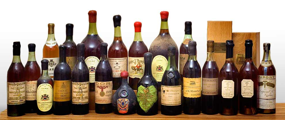 A unique collection of Pre-phylloxera and Early Vintages