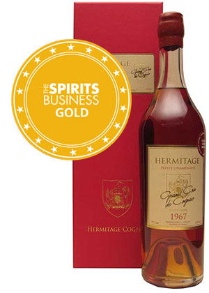 Gold Medal winning 1967 Hermitage Cognac