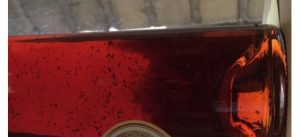 sediment in cognac